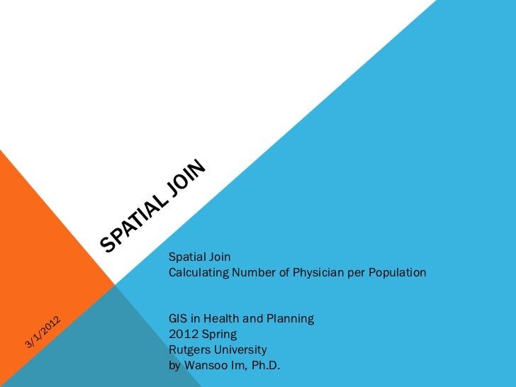 O IN                       L J                     IA                  AT                SP        Spatial Join           ...