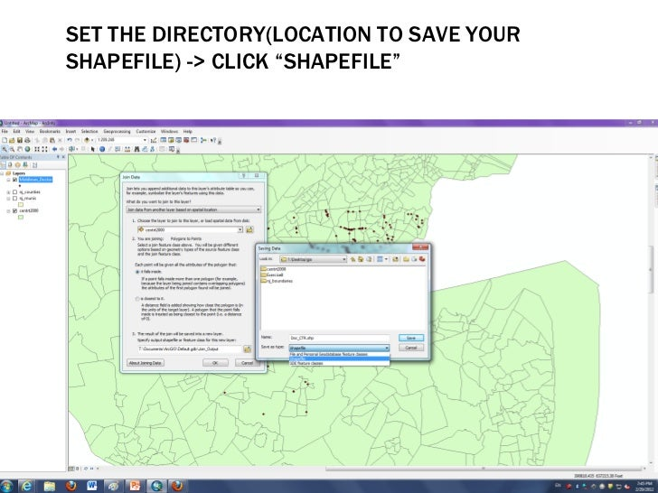 how to add location attribute to pour point shapefile