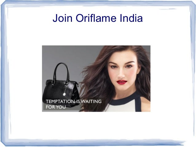 Join Oriflame India