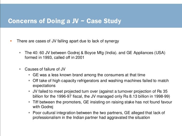 Joint Ventures Case Solution and Analysis, HBS Case Study ...