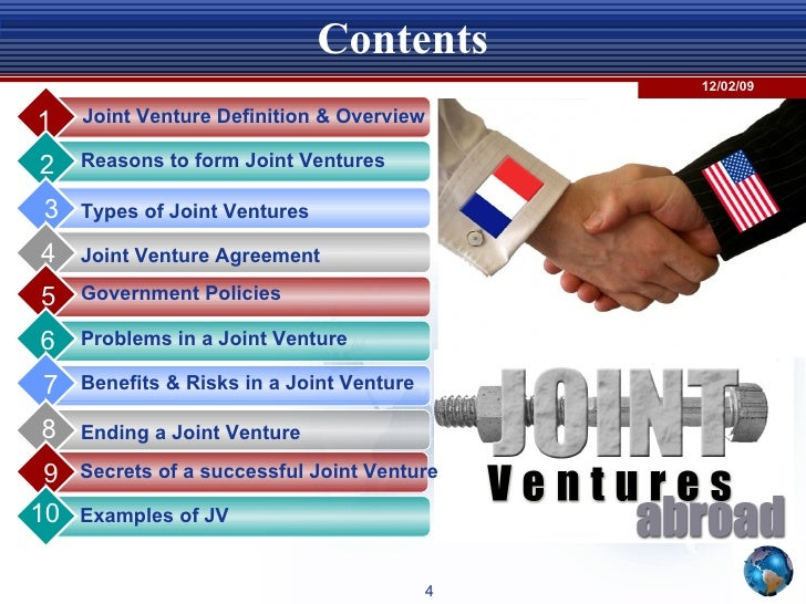 examples of some successful joint ventures Joint venture marketing can be a very successful growth strategy for businesses   here's the dictionary definition of a joint venture  strategy for growing your  business, there are some common mistakes that you should seek.