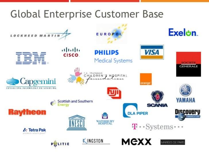 Global Enterprise Customer Base