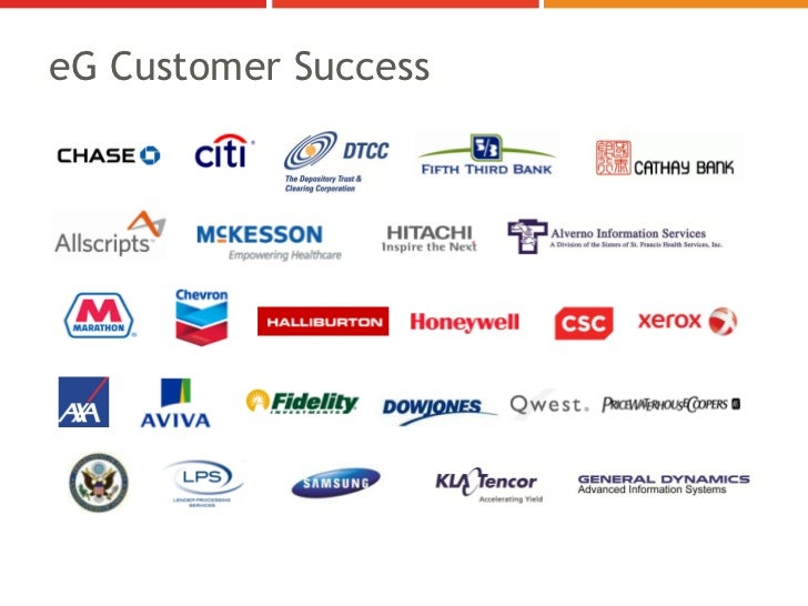 eG Customer Success