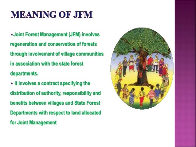 benefits of joint forest management
