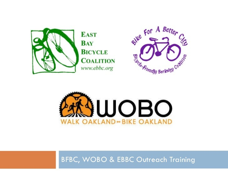 BFBC, WOBO & EBBC Outreach Training