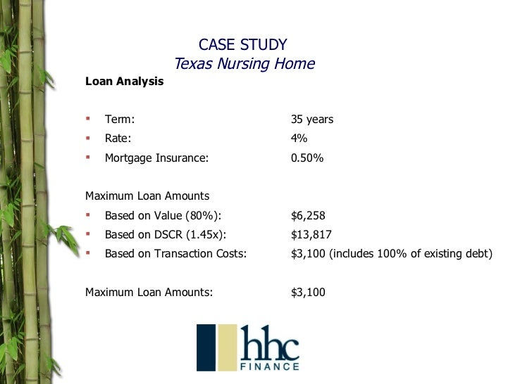 case study analysis aid debt Short-term debt: the balances of to serve as an aid in management in the previous case, financial statement analysis was used to answer a question and help.