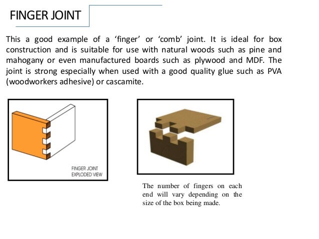 how to cut finger joints