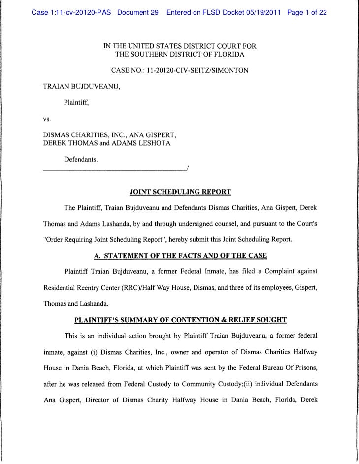 Case 1:11-cv-20120-PAS Document 29           Entered on FLSD Docket 05/19/2011 Page 1 of 22                         IN THE...