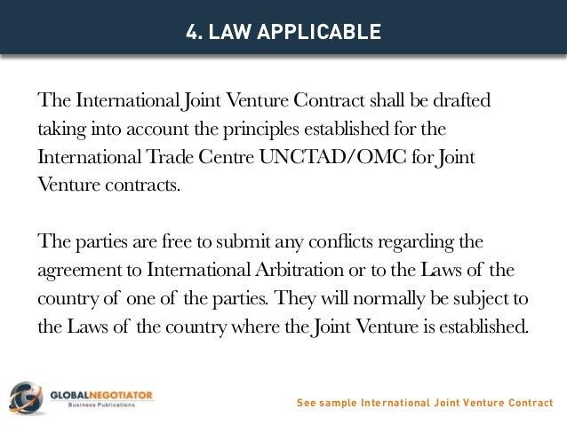 ... Joint Venture Contract; 10.  Joint Venture Contract Template Free