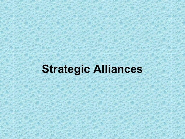 joint ventures and strategic alliances of walmart Forms include joint ventures, licenses, long-term sup-  importance of strategic alliances in company's activity 41 when a strategic alliance is proposed within an.