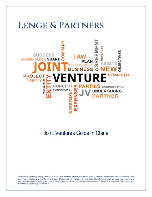 Joint Ventures Guide In China