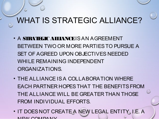 strategic alliance Working together to advance the profession the strategic alliance is a group of four leading organizations committed to the athletic training profession and to the.