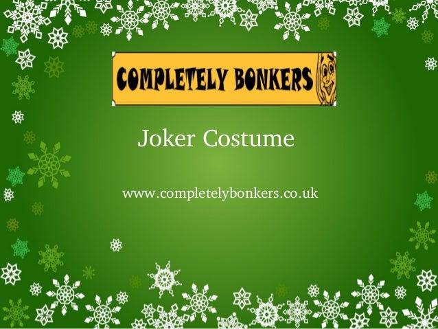 JokerCostume www.completelybonkers.co.uk