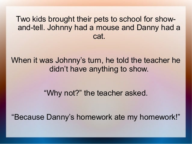 Gallery For > Hilarious Jokes For Kids To Tell At School