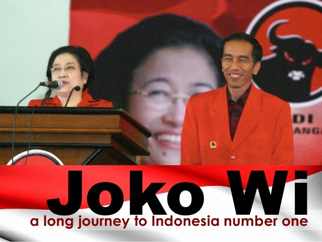 a long journey to Indonesia number one Joko Wi