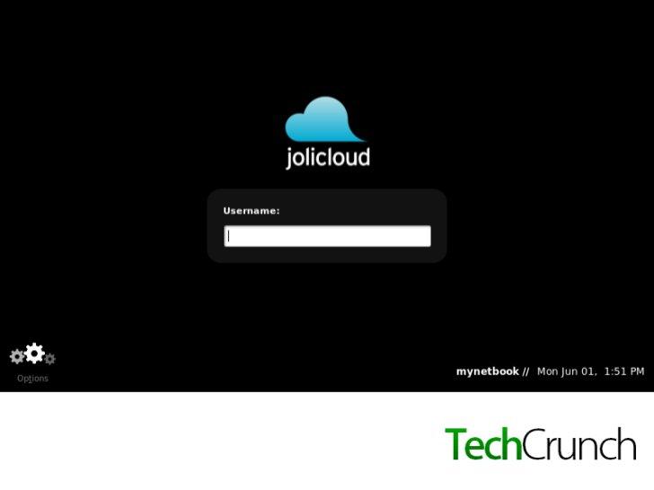 Jolicloud screenshots