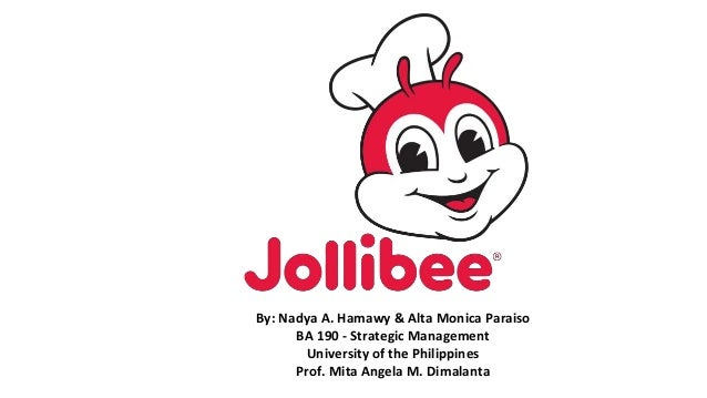 International Management Case 1-2 Jollibee Food Corporation