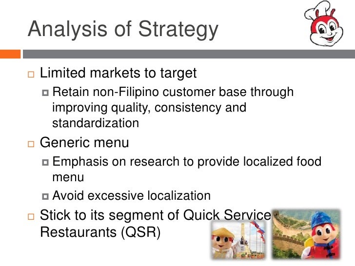 chowking swot analysis Swot analysis 166 appendix b amending part ix of the integrated  reorganization plan by renaming the department of trade and.