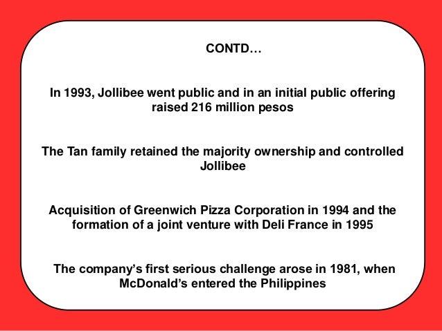 jollibee foods corporation international expansion case study