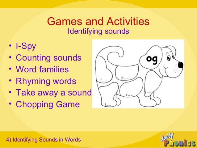 Jolly phonics presentation