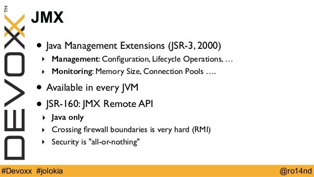 Spicing up JMX with Jolokia (Devoxx 2014)