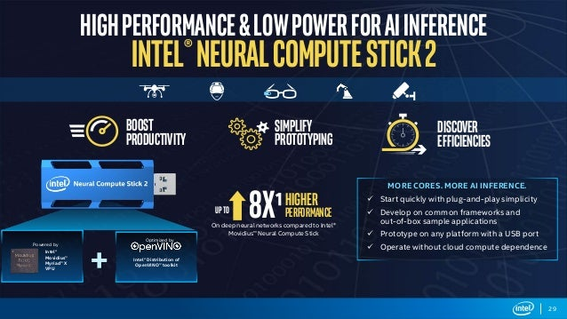 TDC2019 Intel Software Day - Inferencia de IA em edge devices
