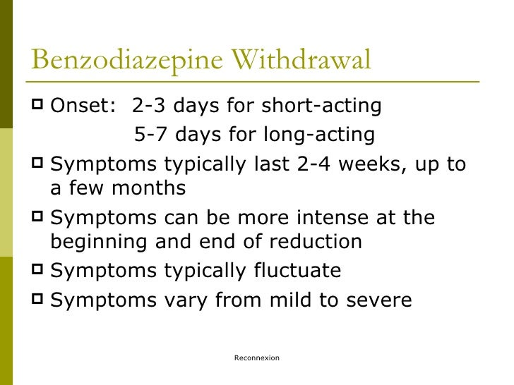 DrugInfo seminar: Benzodiazepines and the older generation