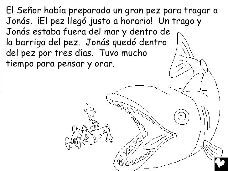 Jonah And The Big Fish Coloring Page - Costumepartyrun