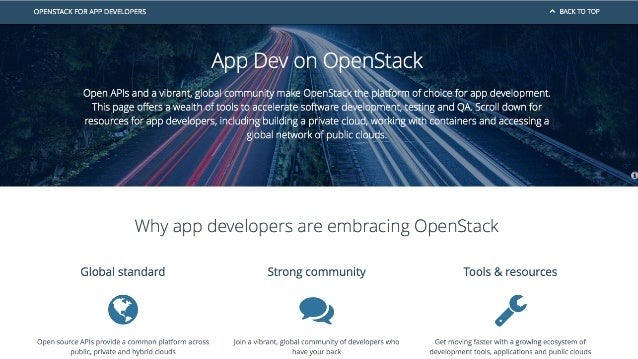 OpenStack as the Platform for Innovation