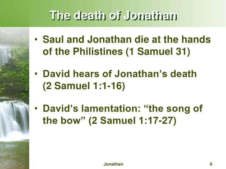 A summary and analysis of jonathon