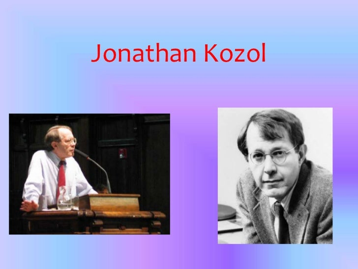 Jonathan Kozol<br />