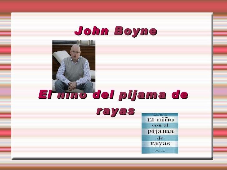 John  Boyne El  niño  del  pijama  de  rayas