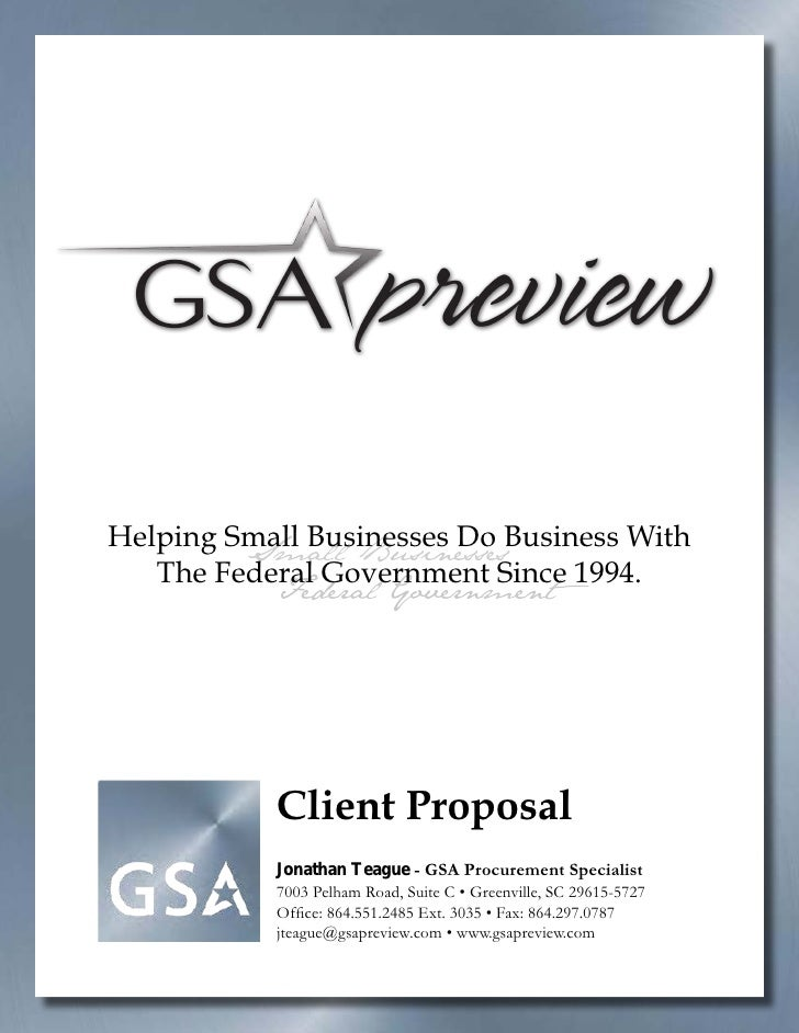 Helping Small Businesses Do Business With          Small Businesses    The Federal Government Since 1994.            Feder...