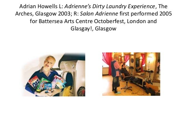 Adrian Howells, Foot Washing for the Sole, first performed The Arches, Glasgow 2008