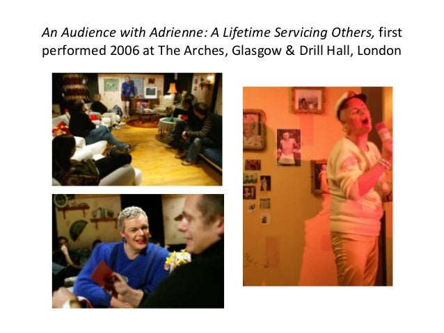 Adrian Howells, The 14 Stations of the Life and History of Adrian Howells (first performed at The Arches, Glasgow 2007). S...