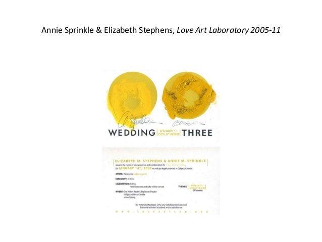 Annie Sprinkle & Elizabeth Stephens, Love Art Laboratory 2005-11