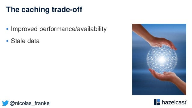 @nicolas_frankel The caching trade-off  Improved performance/availability  Stale data