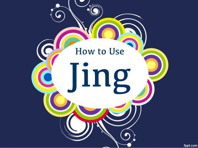 Jing How to Use