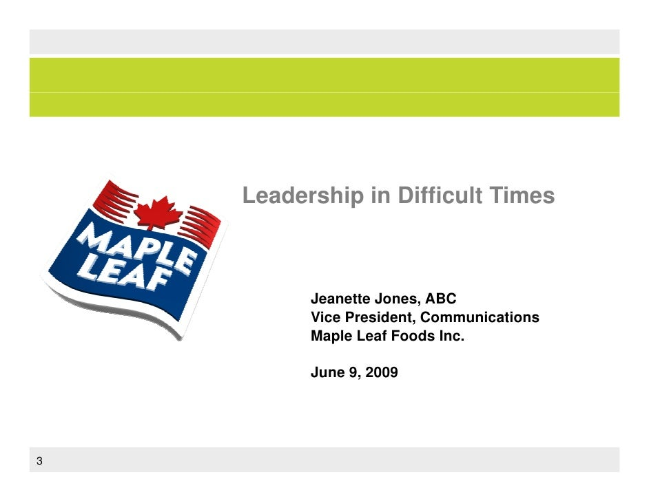 maple leaf food ethical case study Maple leaf simply fresh (a) case solution, a new line of chilled ready meals has to major technological breakthroughs in the food-processing was developed by maple.
