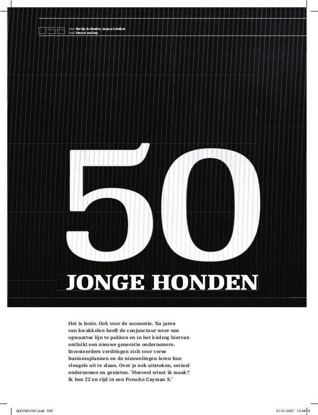 056         tekst Martijn de Meulder, Jacques Schalken                        beeld Vincent van Gurp                      ...