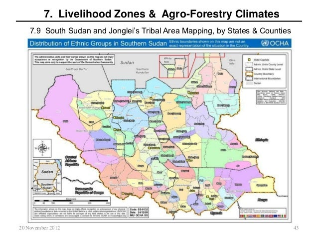 South Sudans Jonglei States Agricultural and Food Security Strategy