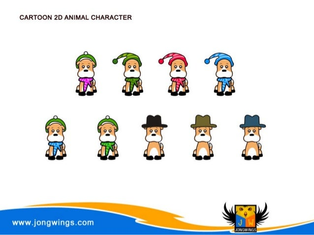 2d Character Design Course : Jongwings d character design