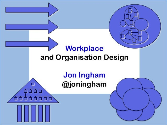 Workplace and Organisation Design Jon Ingham @joningham