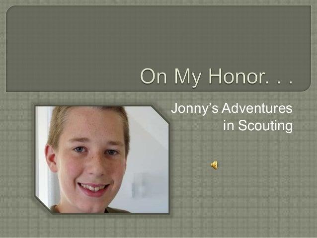 Jonny's Adventures in Scouting
