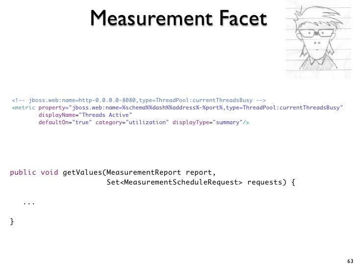 "Measurement Facet   <!-- jboss.web:name=http-0.0.0.0-8080,type=ThreadPool:currentThreadsBusy --> <metric property=""jboss.w..."