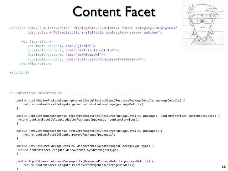 "Content Facet <content name=""cumulativePatch"" displayName=""Cumulative Patch"" category=""deployable""          description=""A..."