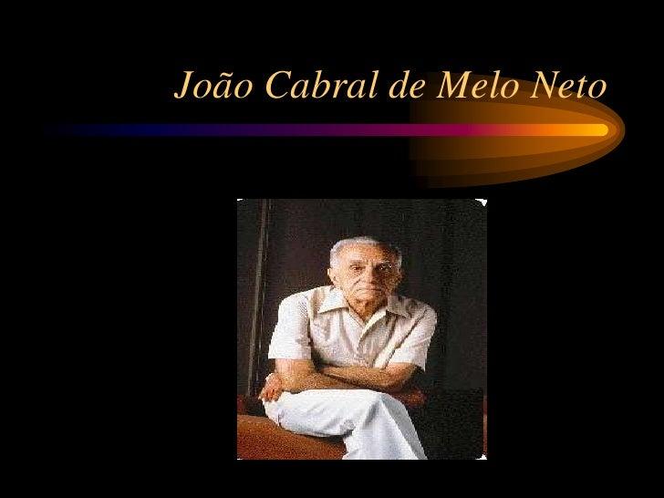 João Cabral de Melo Neto<br />