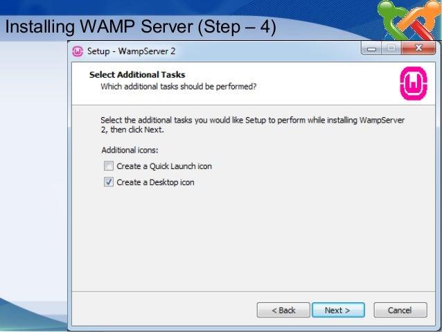 Configuring & Installing Joomla on Windows using WAMP Server.