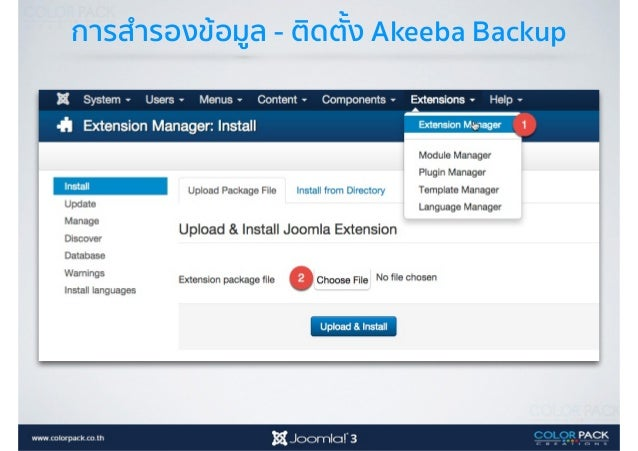 การสำรองข้อมูล - Download Backup Download Backup ลงมาเก็บ