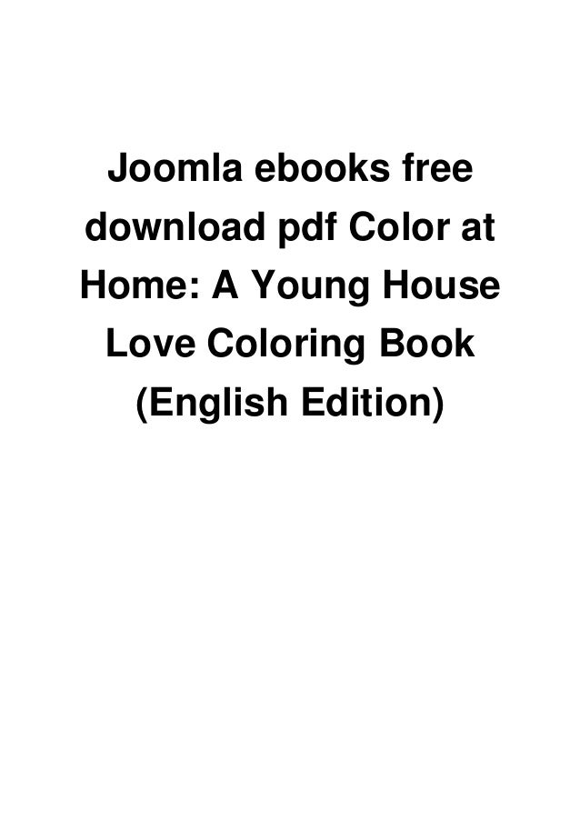 Joomla ebooks free download pdf Color at Home: A Young